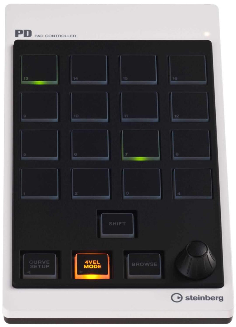 Steinberg CMC-PD Cubase Pad Controller - ProSound and Stage Lighting