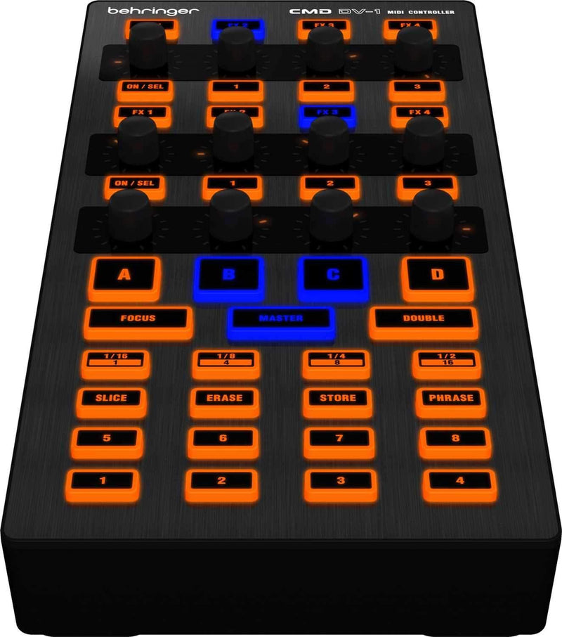 Behringer CMD DV-1 DJ Software Controller - PSSL ProSound and Stage Lighting