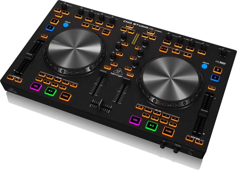 Behringer CMD Studio 4A 4-Deck MIDI DJ Controller - PSSL ProSound and Stage Lighting