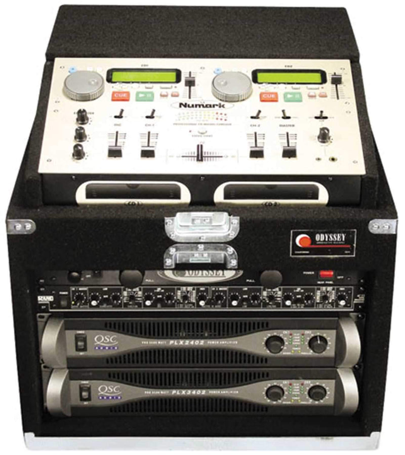 Odyssey CNMCM106 Carpeted CD Mixer Case - PSSL ProSound and Stage Lighting