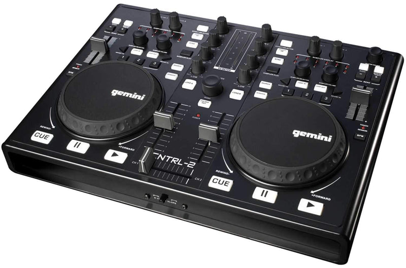 Gemini CNTRL-2 DJ MIDI Controler with Virtual DJ - PSSL ProSound and Stage Lighting