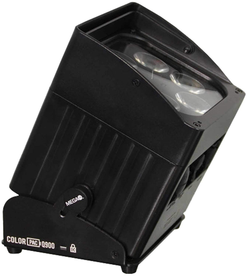 Mega Lite Color Pac Q900 Battery-Operated Wireless RGBW LED Par Light - PSSL ProSound and Stage Lighting