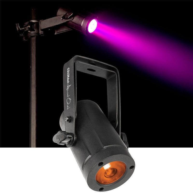 Chauvet COLORdash Accent Quad RGBA LED Wash Light - PSSL ProSound and Stage Lighting