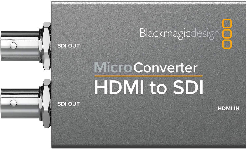 Blackmagic Design Micro Converter HDMI to SDI with PSU - PSSL ProSound and Stage Lighting