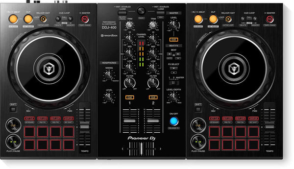 Pioneer DDJ-400 2-Channel DJ Controller for rekordbox - PSSL ProSound and Stage Lighting