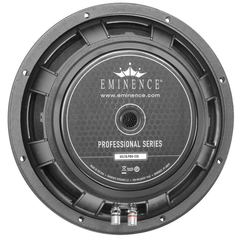 Eminence DELTAPRO12A 12In Pro Rawframe Speaker - PSSL ProSound and Stage Lighting