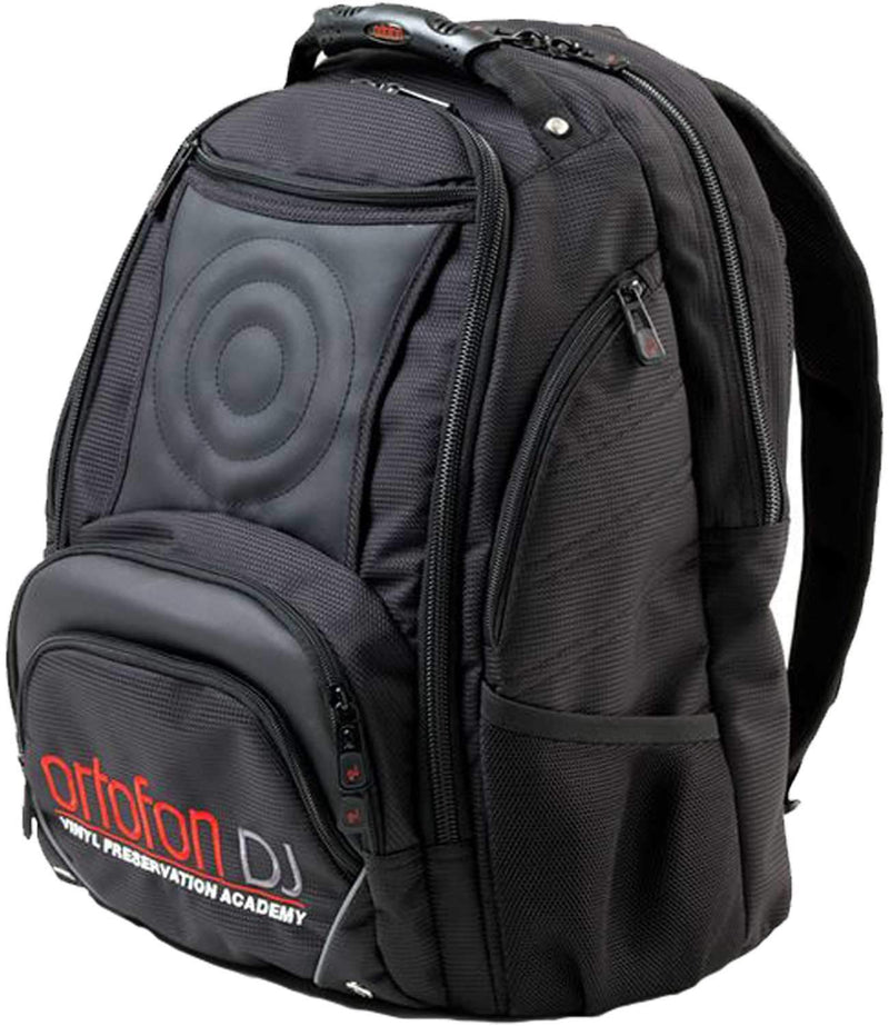 Ortofon Deluxe High End Embroidered DJ Backpack - PSSL ProSound and Stage Lighting