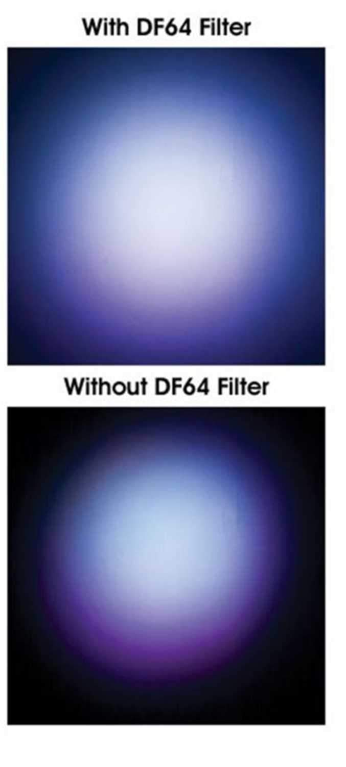 ADJ American DJ Plexy Glass Diffusion Filter for LED Par Fixtures - PSSL ProSound and Stage Lighting