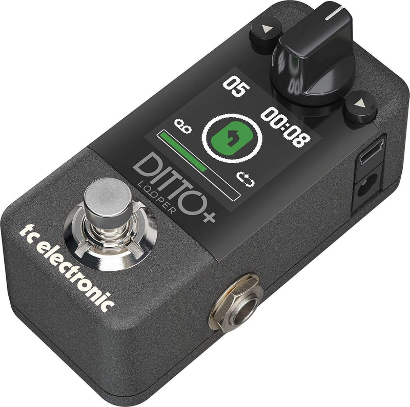 TC Electronic Ditto+ Looper Multi-Session Pedal - PSSL ProSound and Stage Lighting