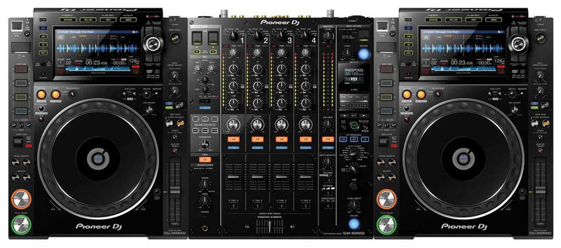 Pioneer CDJ-2000NXS2 (2) with DJM-900NXS2 DJ System - PSSL ProSound and Stage Lighting