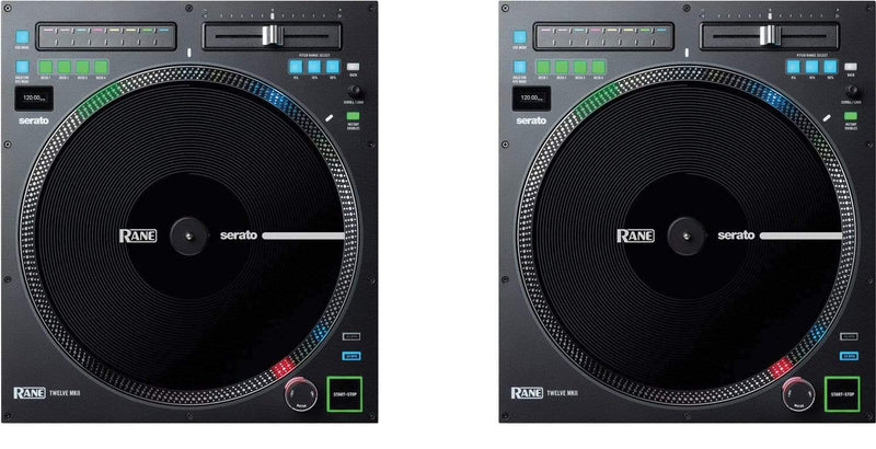 RANE Twelve MKII 12-Inch Motorized Turntable Controller Pair - PSSL ProSound and Stage Lighting