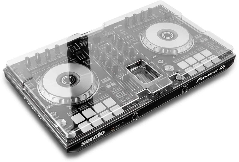 Decksaver DS-PC-DDJSR2DDJRR Dust Cover for Pioneer DDJ-SR2/DDJ-RR - PSSL ProSound and Stage Lighting