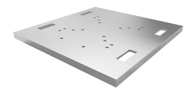 Global Truss 30 x 30 x 1.5-Inch Base Plate for DT Truss - PSSL ProSound and Stage Lighting
