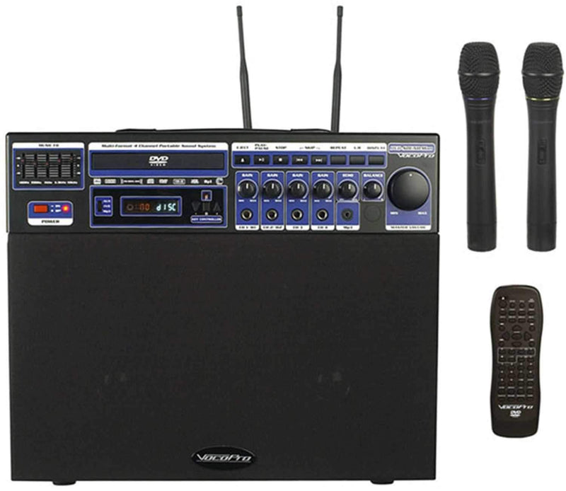 Vocopro DVD-SOUNDMAN Portable Sound System - PSSL ProSound and Stage Lighting