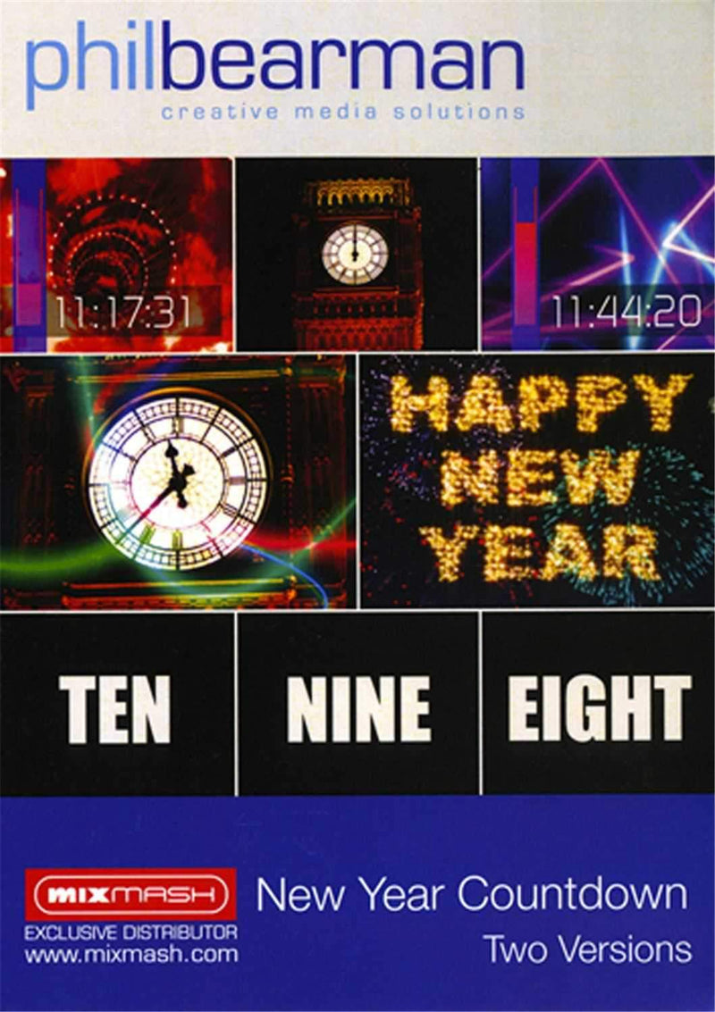DVJ Vision DVJPB2 New Year Count Down Animation - PSSL ProSound and Stage Lighting