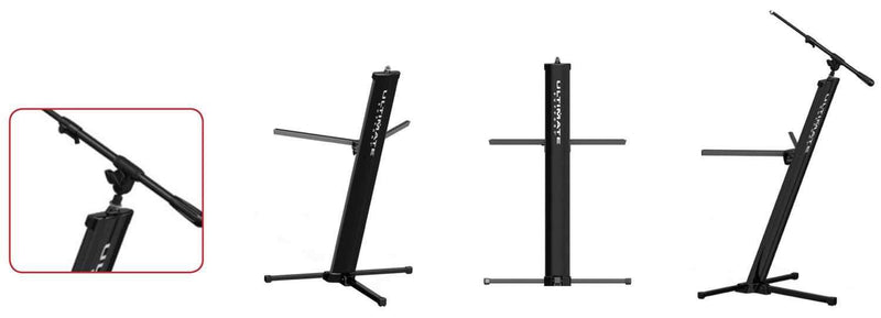 Ultimate DX-48-PRO Keyboard Stand with Gig Bag - ProSound and Stage Lighting