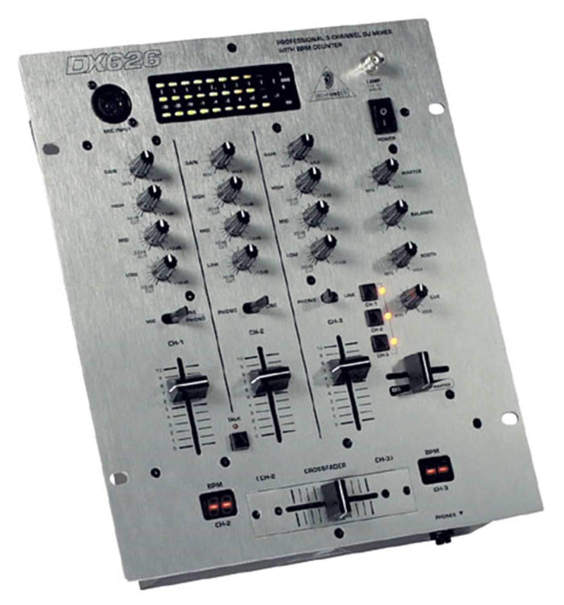Behringer DX626 DJ Mixer with BPM Counter - PSSL ProSound and Stage Lighting