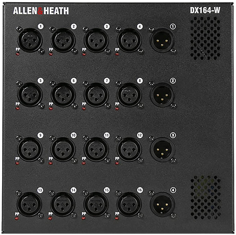 Allen & Heath DX164-W Wall Box I/O Expander - PSSL ProSound and Stage Lighting