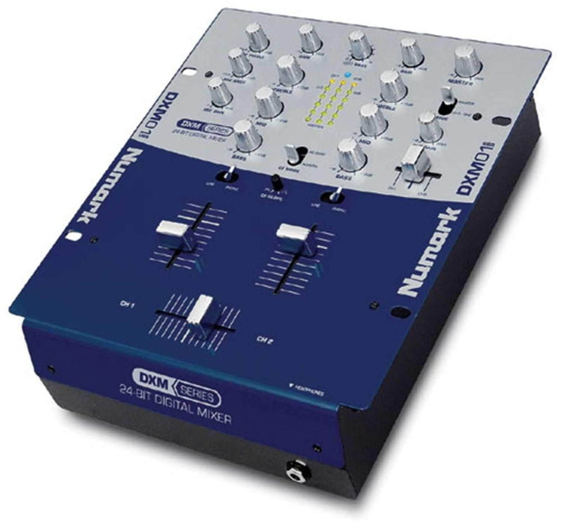 Numark DXM01 DJ Mixer With Two USB Connections - ProSound and Stage Lighting