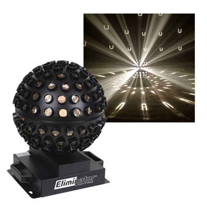 Eliminator Starsphere Centerpiece Effect-White - PSSL ProSound and Stage Lighting