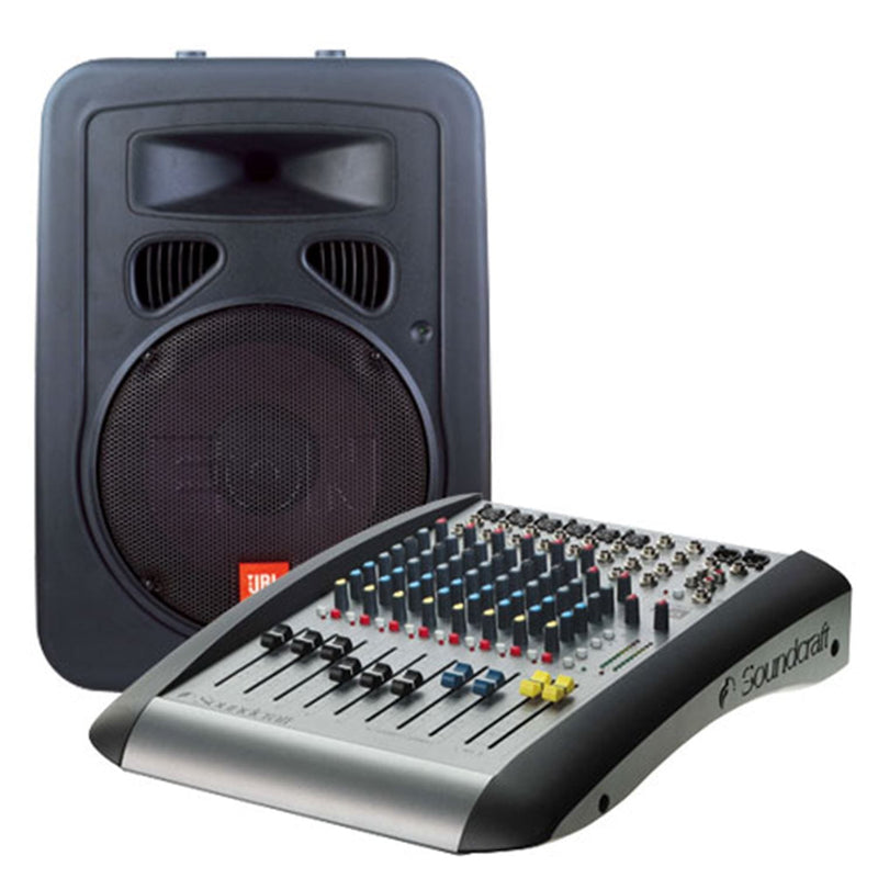 JBL E-SYSTEM-10 PA System With Eon10G2/E6 Mxr - PSSL ProSound and Stage Lighting