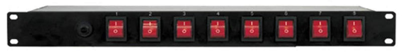 Eliminator E107 8-Channel Rack Mount Power Center - ProSound and Stage Lighting