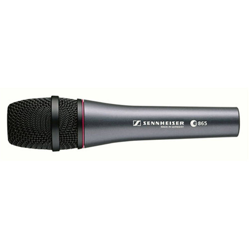 Sennheiser E865 Handheld Condenser Mic with Clip - PSSL ProSound and Stage Lighting