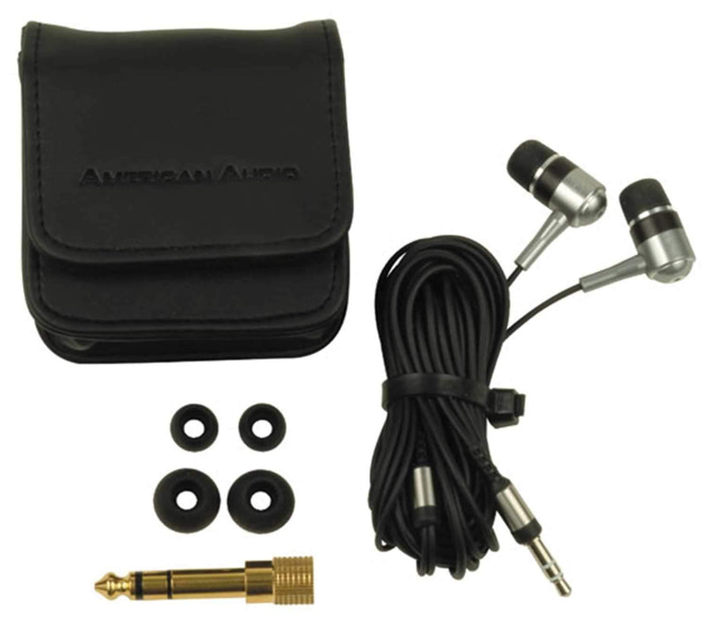 American Audio EB-700 Ear Buds With Extended Bass - PSSL ProSound and Stage Lighting