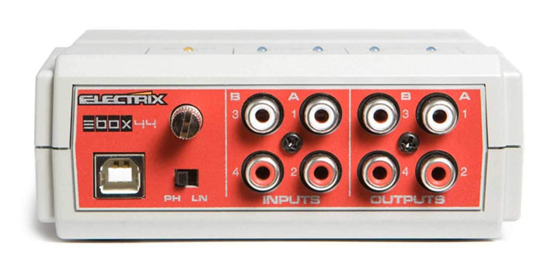 Electrix EBOX-44 Portable USB Audio Interface - PSSL ProSound and Stage Lighting