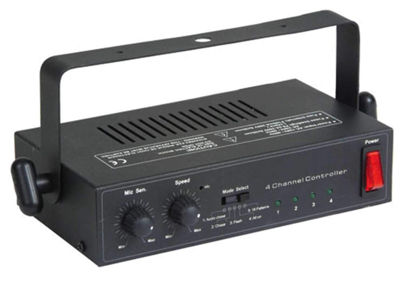 Eliminator EC4 4 Channel Light Controller - PSSL ProSound and Stage Lighting