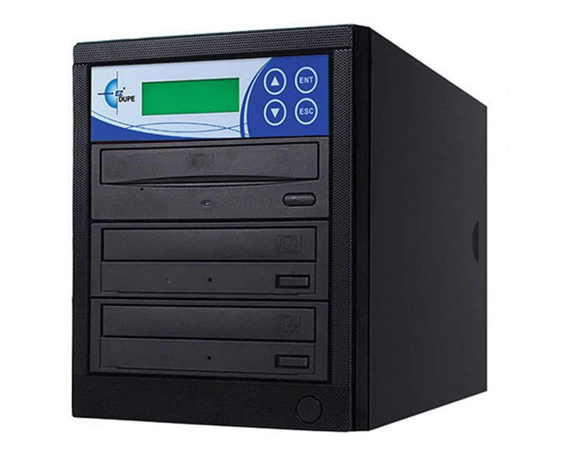 EZ-Dupe EDL2 2 Target DVD/ CD Duplicator - Black - ProSound and Stage Lighting