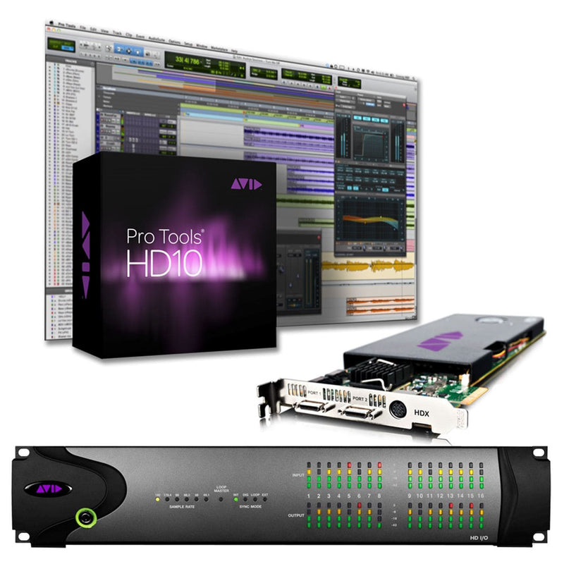 Avid Academic Pro Tools HDX 16X16 System EDU - PSSL ProSound and Stage Lighting