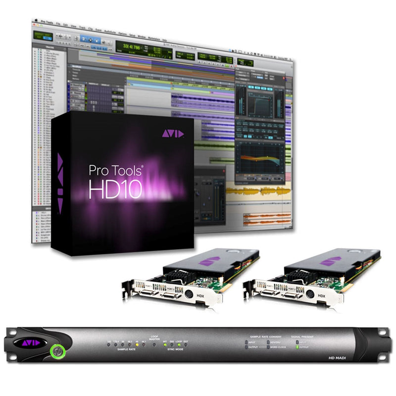 Avid Academic Pro Tools HDX2 MADI System EDU - PSSL ProSound and Stage Lighting