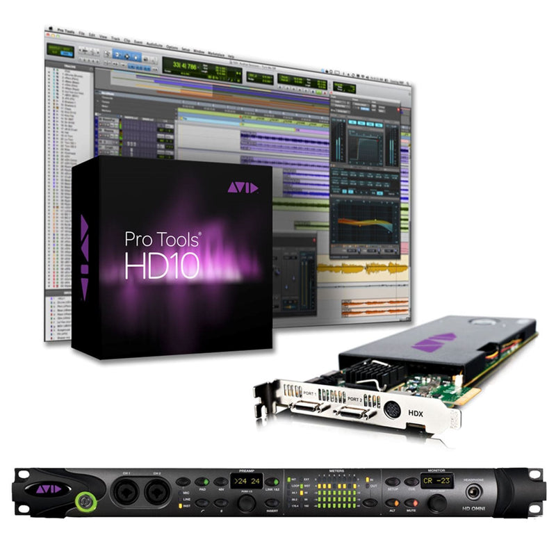 Avid Academic Pro Tools HDX OMNI System EDU - PSSL ProSound and Stage Lighting