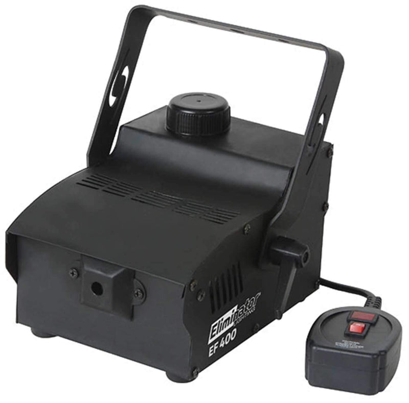Eliminator EF400 Fog Machine 400-Watt with 1 Pint of Fog Fluid - PSSL ProSound and Stage Lighting