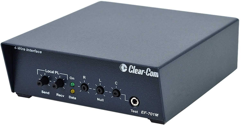 Clear-Com EF-701M 4-Wire Interface with Call Signal - PSSL ProSound and Stage Lighting
