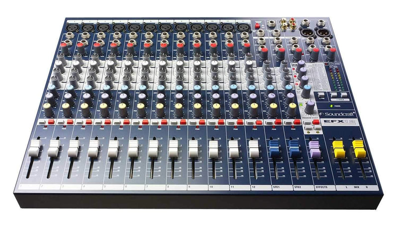 Soundcraft EFX8 8-Channel Compact PA Mixer - ProSound and Stage Lighting