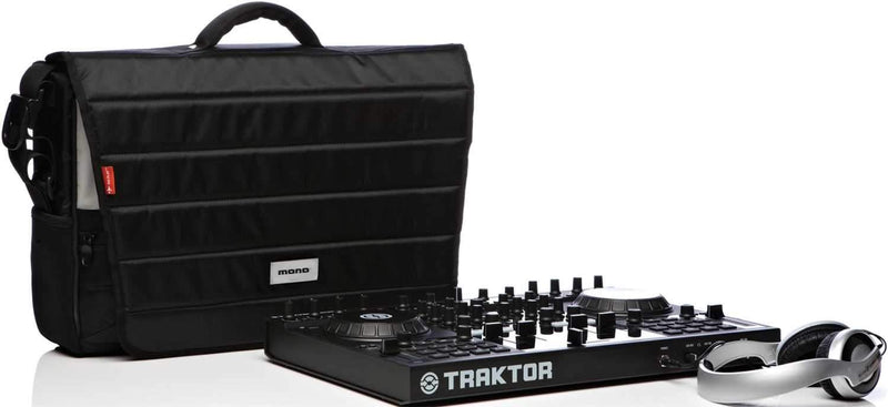 Mono EFXKONTROLLERJB Dlx Dj Controller Bag-Jet Blk - ProSound and Stage Lighting