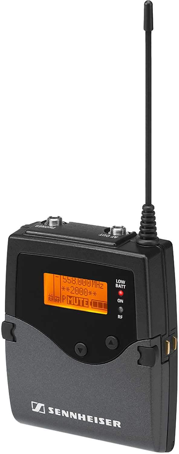 Sennheiser EK-2000-Aw Wireless Microphone Camera Receiver AW - PSSL ProSound and Stage Lighting