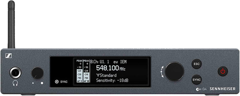 Sennheiser EK IEM G4 Evolution Wireless Stereo Bodypack Receiver A1 - PSSL ProSound and Stage Lighting