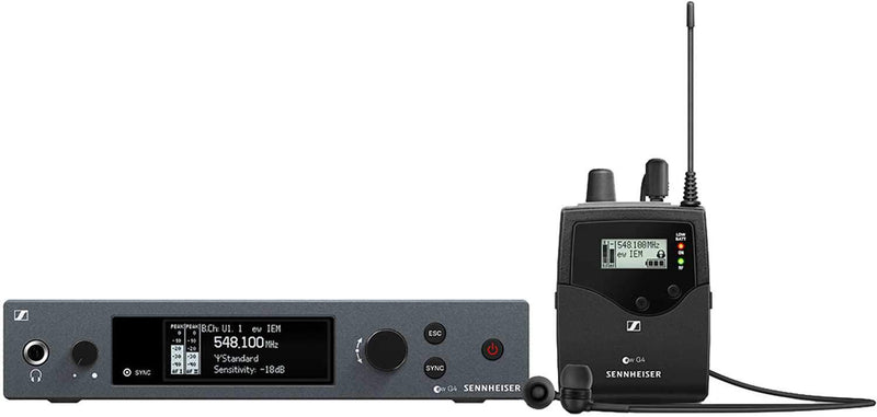 Sennheiser EK IEM G4 Evolution Wireless Stereo Bodypack Receiver G - PSSL ProSound and Stage Lighting