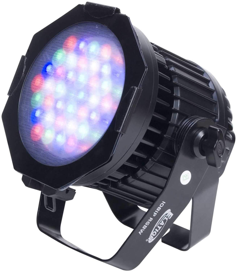 Elation ELAR108RGBW Black LED Par Can - PSSL ProSound and Stage Lighting