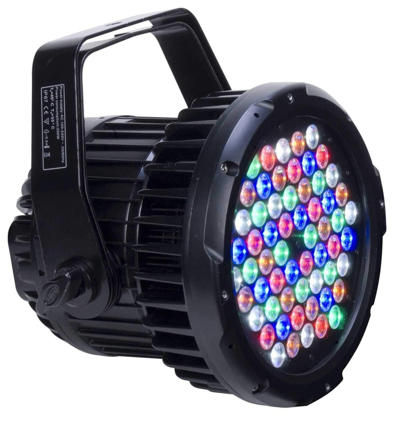 Elation ELAR180RGBAW Black High Power LED Pro Par - PSSL ProSound and Stage Lighting