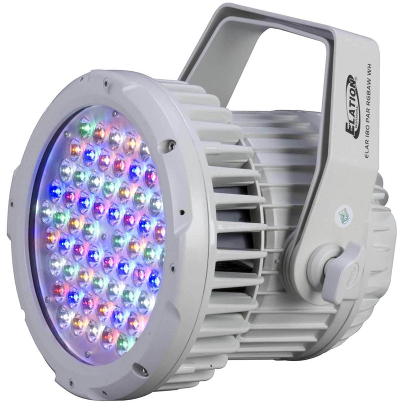 Elation ELAR180RGBAW White High Power LED Pro Par - ProSound and Stage Lighting