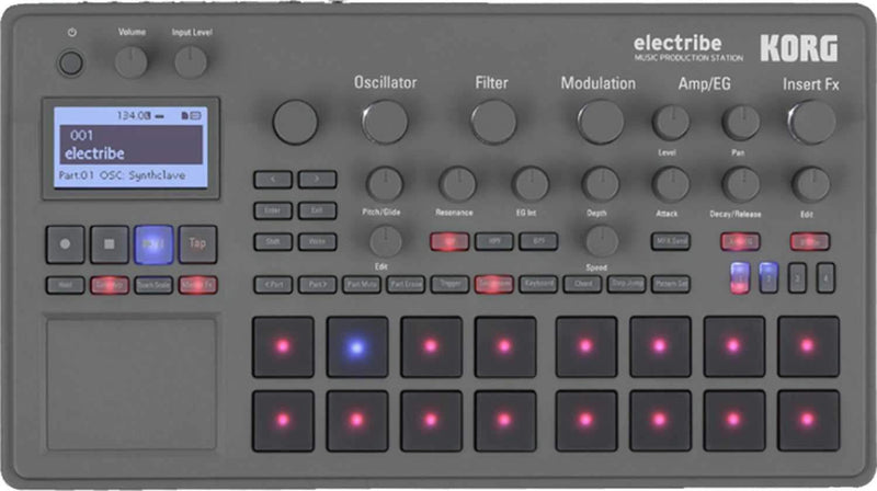 Korg Electribe Synthesizer-Based Music Production Station - PSSL ProSound and Stage Lighting