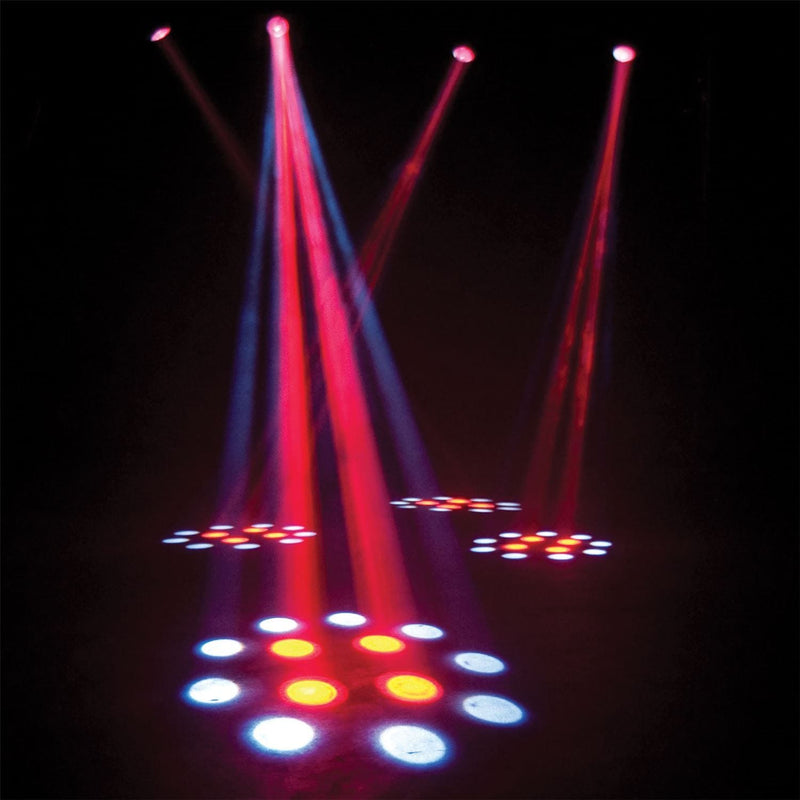 Eliminator Electro 4 Pak 4 Unit Moonflower System - PSSL ProSound and Stage Lighting
