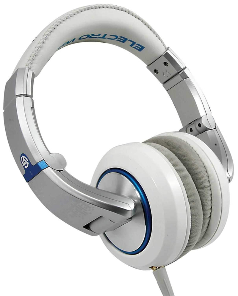 Numark ELECTROWAVE Pro Dj Headphones - White - PSSL ProSound and Stage Lighting