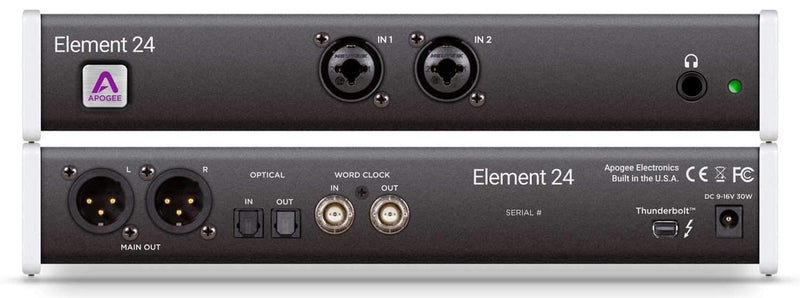 Apogee Element 24 Thunderbolt Audio Interface - PSSL ProSound and Stage Lighting