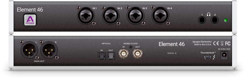 Apogee Element 46 Thunderbolt Audio Interface - PSSL ProSound and Stage Lighting