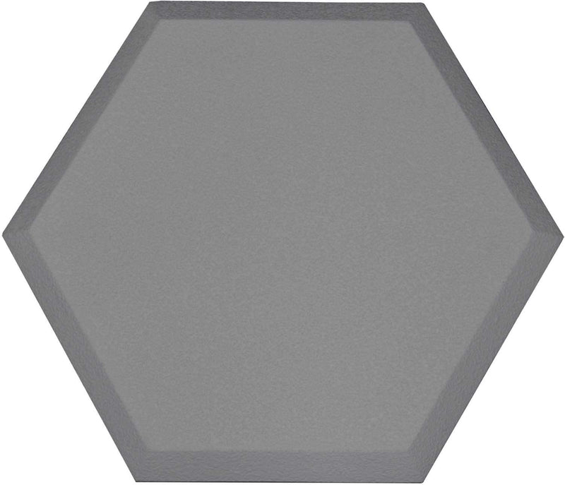 Primacoustic Accent Hexagon Beveled Edge - Grey - ProSound and Stage Lighting
